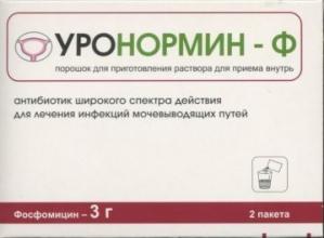 Уронормин-Ф пор. д/приг. р-ра. д/пр. внутрь пак. 3г №2