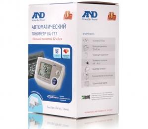 Тонометр AND UA-777 L автомат + адаптер (манжета 32-45)