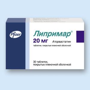 Липримар табл.п.п.о. 20мг. №30