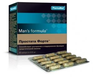 Мен-с формула Простата Форте капс. №60 (БАД)
