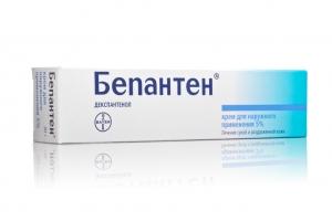 Бепантен крем д/наруж. прим. 5% туба 30г