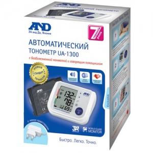 Тонометр AND UA-1300 автомат с речевой функцией + адаптер