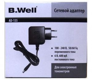 Адаптер для тонометра B.WELL AD-155