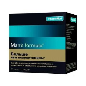 Мен-с формула Больше чем поливитамины капс. №60 (БАД)