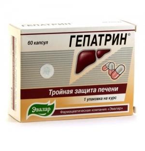 Гепатрин капс. №60 (БАД)
