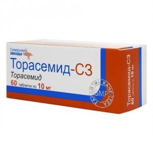 Торасемид-СЗ табл. 10мг. №60