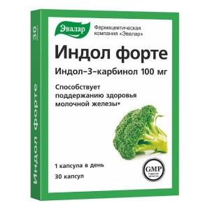 Индол Форте капс. 0,23г №30 (БАД) Эвалар