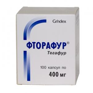 Фторафур капс. 400 мг. №100