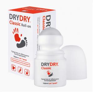 Драй Драй ролл-он средство от обильного потоотделения фл.-ролик 35мл.