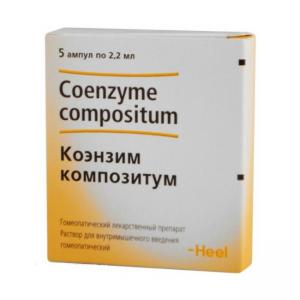 Коэнзим композитум р-р д/ин. амп 2,2мл. №5