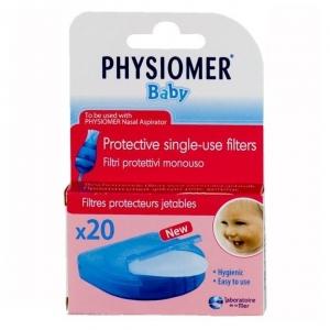 Физиомер фильтры одноразовые для аспиратора детского №20