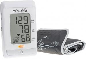 Тонометр MICROLIFE BP A-150 автомат + адаптер, диагностика аритмии