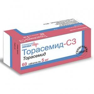 Торасемид-СЗ табл. 5мг. №60