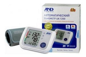 Тонометр AND UA-1200 автомат + адаптер