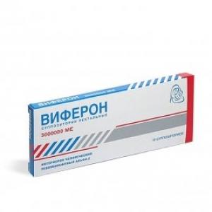 Виферон -4 супп.рект. 3000000МЕ №10