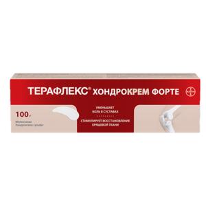 Терафлекс хондрокрем форте для наружного применения туба 100г
