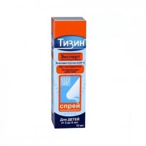 Тизин Эксперт спрей наз. 0,05% фл 10мл.