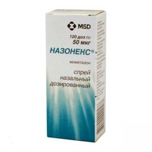 Назонекс спрей назальный 50мкг/1доза фл 120доз