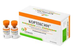 Кортексин для детей лиоф. д/приг. р-ра для в/м введ. фл. 5мг. №10