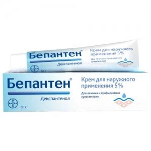 Бепантен крем д/наруж. прим. 5% туба 50г