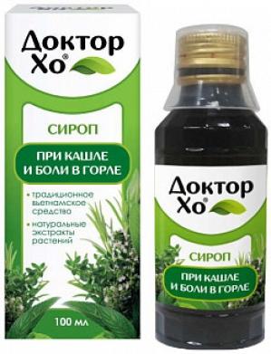 Доктор ХО сироп 100 мл. (БАД) (Асна)
