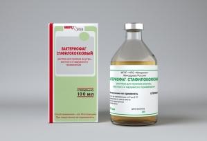 Бактериофаг стафилококковый жидкий фл 100мл.
