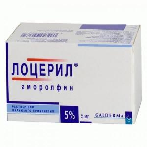 Лоцерил лак для ногтей (р-р д/наруж. прим.) 5% фл. 5мл.
