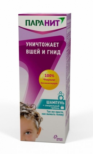 Паранит педикулицидный шамп. фл. 200мл.
