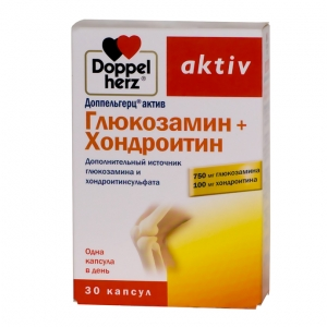 Доппельгерц Актив Глюкозамин+хондроитин капс. №30 (БАД)