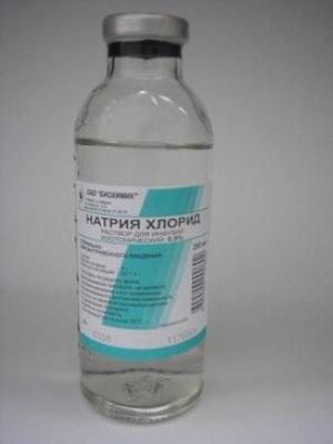 Натрия хлорид р-р д/инф. 0.9% фл. 200мл. №28