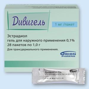 Дивигель гель д/наруж.применен. 0.1% пакетик 1г №28
