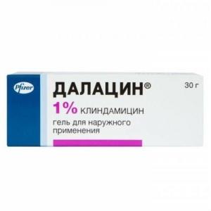 Далацин гель д/наруж. прим. 1% туба 30г