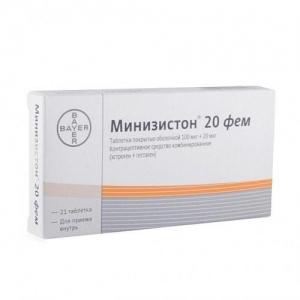 Минизистон 20 фем табл.п.о. №21