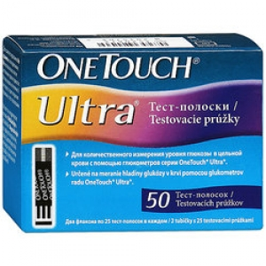 Тест-полоски ONE TOUCH ULTRA №50 (Ван Тач)