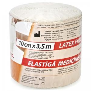 Бинт эластичный Лаума медицинский ВР 3,5м * 10см