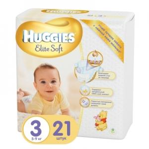 Подгузники детские Хаггис Элит Софт 5-9 кг №21