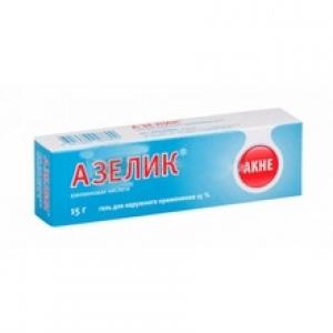 Азелик гель д/наруж. прим. 15% туба 15г