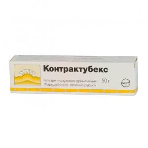 Контрактубекс гель д/наруж. прим. туба 50г