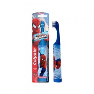 Зубная щетка Колгейт Спайдер мэн детская (супермягкая), электрическая