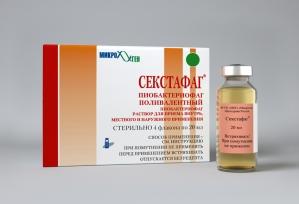 Секстафаг (пиобактериофаг поливалентный жидкий) фл. 20мл. №4