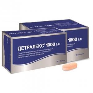 Детралекс табл.п.п.о. 1000мг. №60