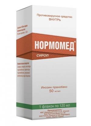 Нормомед сироп фл. 120 мл.