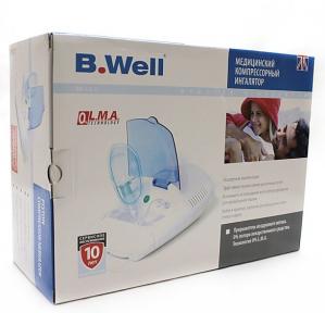 Ингалятор B.WELL WN-112 компрессорный (небулайзер)