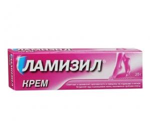 Ламизил крем д/наруж. прим. 1% туба 30г