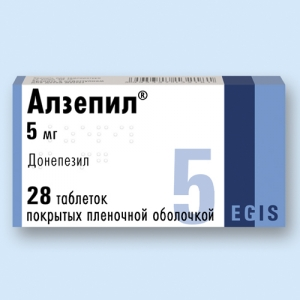 Алзепил табл.п.п.о. 5мг. №28