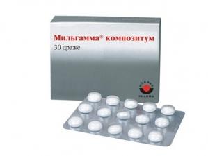 Мильгамма композитум табл.п.о. 100мг./100мг. №30