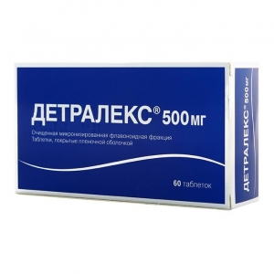 Детралекс табл.п.п.о. 500мг. №60