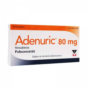 Аденурик табл.п.п.о. 80 мг №28