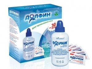 Долфин устройство для промывания носа +30 пакетиков , д/взр.