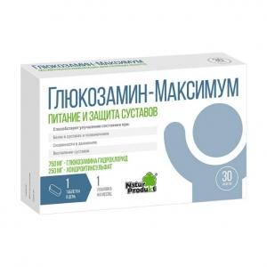 Глюкозамин Максимум табл. №30 (БАД)
